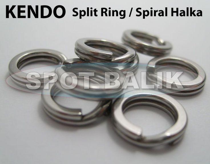 KENDO+Split+Ring+Jig+Halkası+(9-10-11mm)