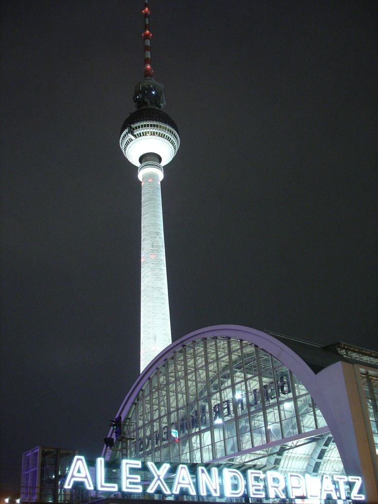 The best and only revolving restaurant i've been to! Berlin, January 2012