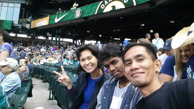 Friends #Selfie #Baseball