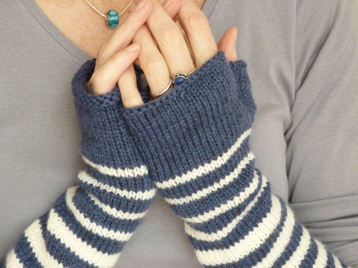 knit gloves   Grâce au tuto de la maison Rililie et surtout de votre calculette ...