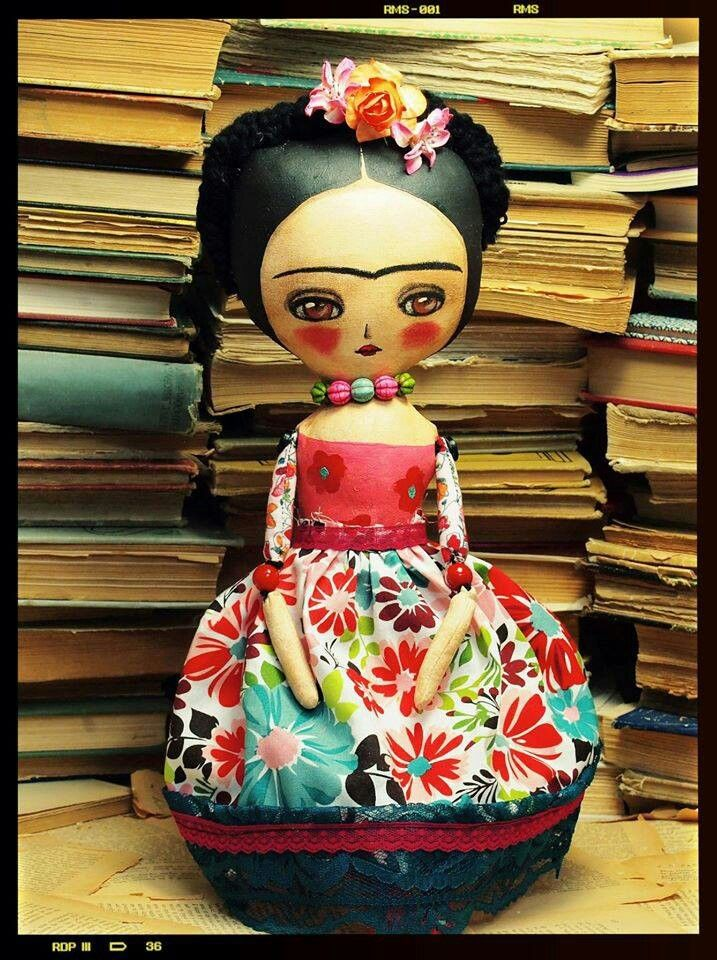 Frida doll by Danita Art