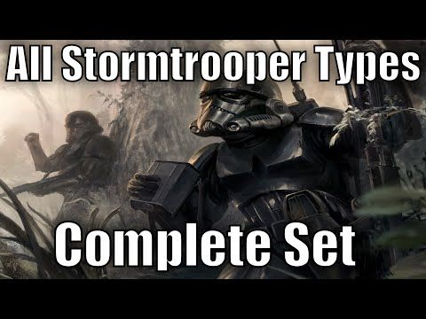 All Stormtrooper Types and Variants - Complete Set - YouTube