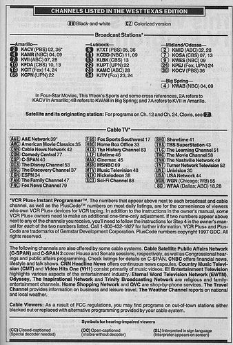 https://flic.kr/p/4bfGEX | West Texas Edition (September 13, 1997) | From my TV Guide collection.