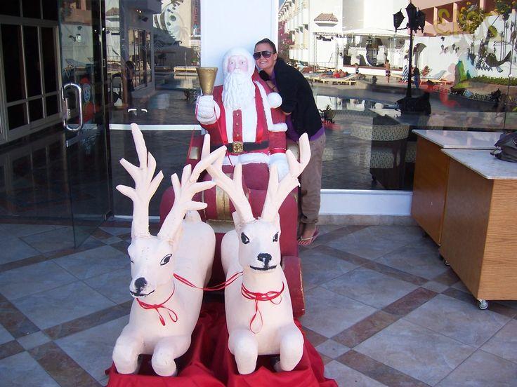 Christmas in Hurghada, Egypt