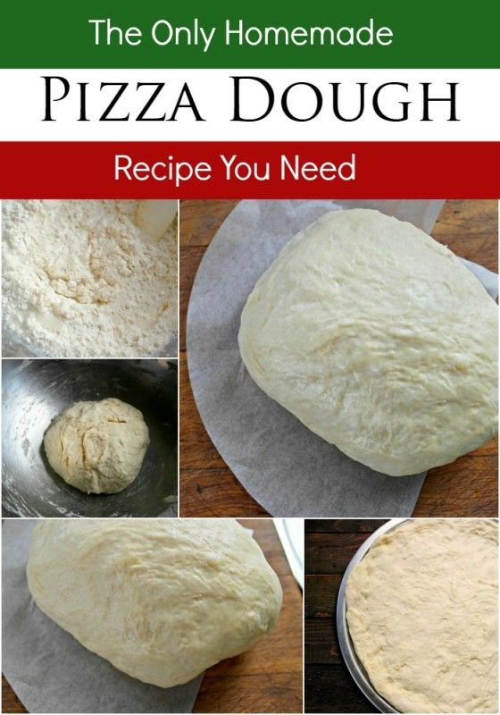 Everyone loves pizza, and this homemade Pizza Crust is a super easy way to make your own custom pizza at home. No need to order takeout from any of the local delivery places. - Teaspoon Of Goodness