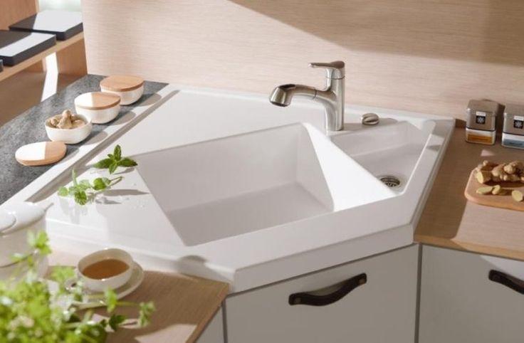 Luxury Modern White Kitchen Sink