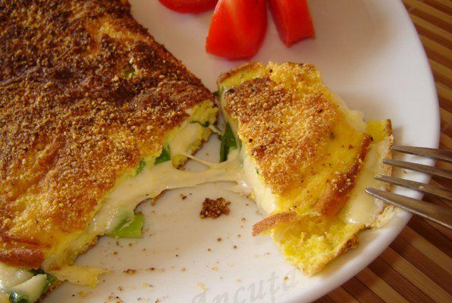 Retete Culinare - Omleta in crusta de malai