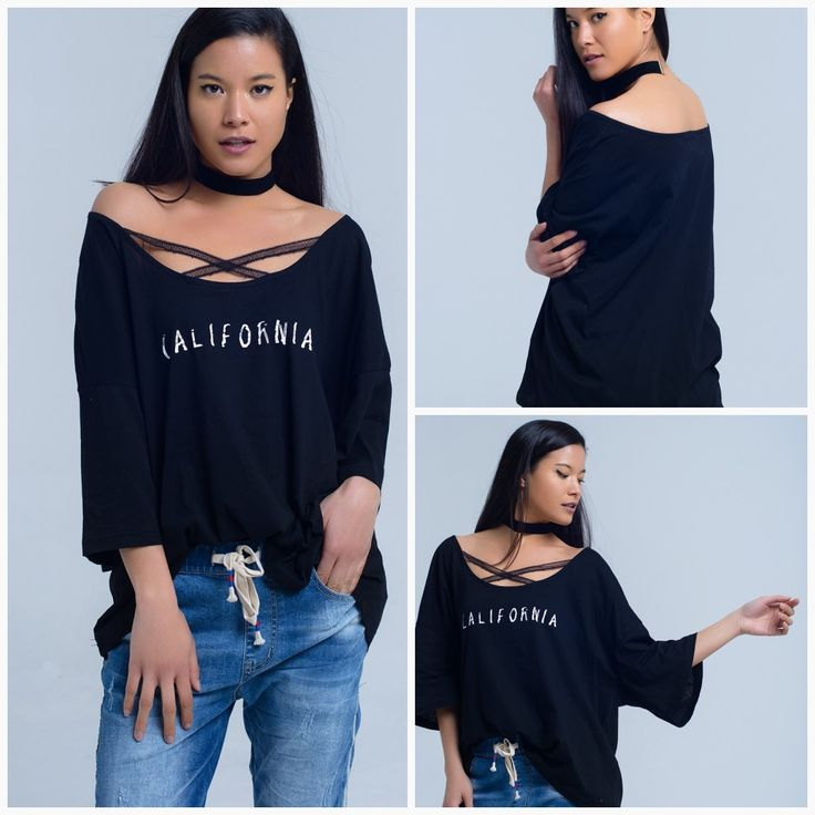 Black tshirt with california logo for just 4599