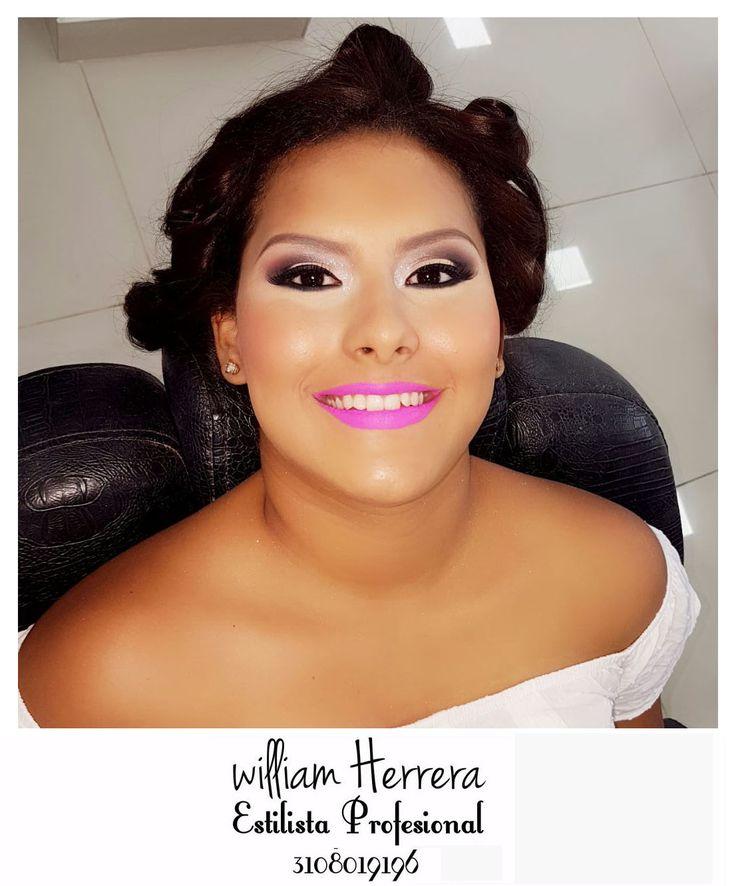 #FelizSábado Muy buenos días para tod@s ¡Feliz día del Amor & Amistad! Inicio mi día con un maquillaje precioso para que luzcas en tu día. Suave, romántico y muy sexy. Asesórate conmigo y lleva tu look ideal 3108019196 ¡William Herrera, Estilista Profesional! #MakeUp #Maquillaje #Belleza #MAC #CaliCo #Cali #Colombia #CaliEsCali #Hermosas #Recogidos #Pro #Estilista #Profesional #Natural #Mujeres #Look #Style