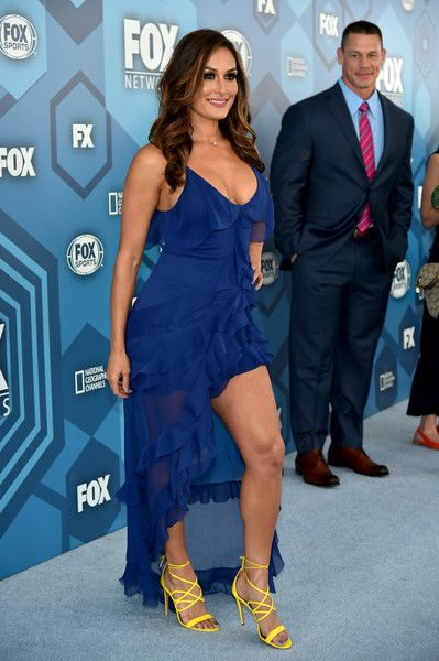 Nikki Bella Photos - (R) John Cena and Nikki Bella attend FOX 2016 Upfront at Wollman Rink on May 16, 2016 in New York City. - FOX 2016 Upfront - Red Carpet