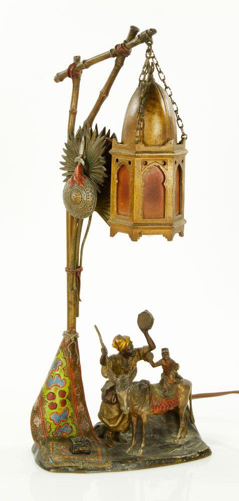 33 Best Orientalist Lamps Images On Pinterest Bronze