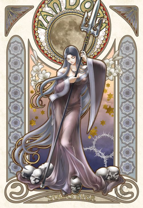 Pandora. Saint Seiya 8.