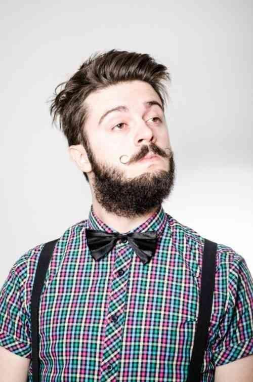 Coupe de cheveux hipster – Coiffures hipster pour homme – # Hair # Cut # Hair   – Cheveux Crépus