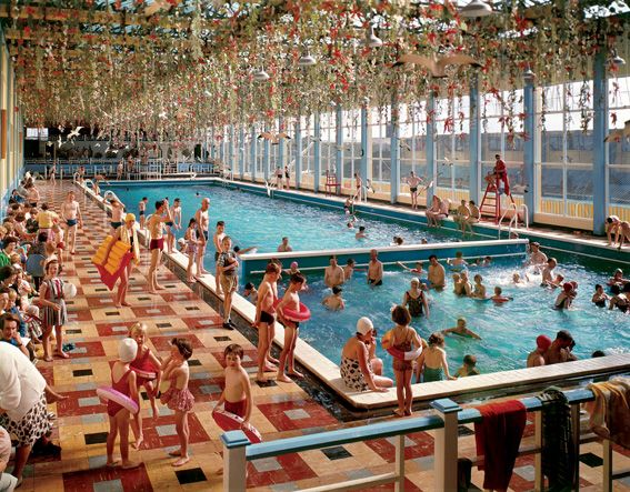 Our True Intent is all For Your Delight.  This edition of Butlin's photographs, collated by Martin Parr, coincides with Butlin's 75th anniversary.