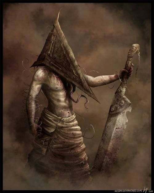 9 best images about best video game boss fights on pinterest bioshock posts and ocarina of times - Pyramid head boss fight ...