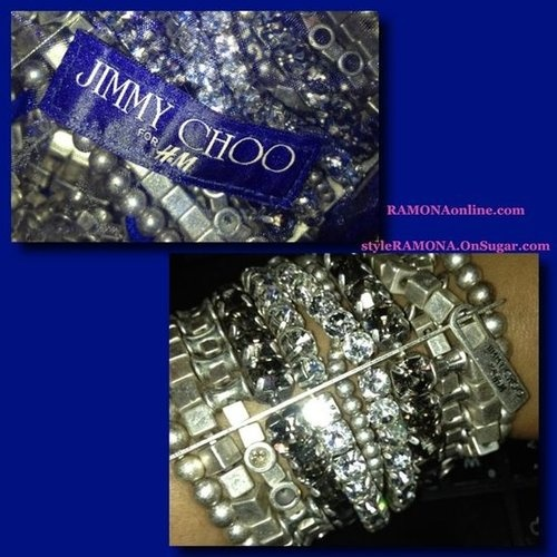 Ramona S Wardrobe Jimmy Choo For H M Bracelet