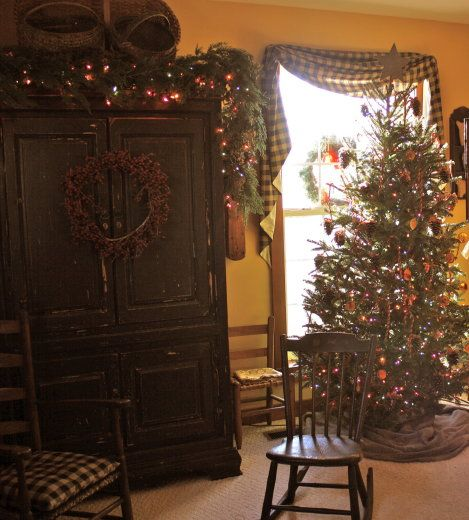 Colonial Primitive Decorating Ideas: 1000+ Images About Primitive/Colonial Christmas♥ On