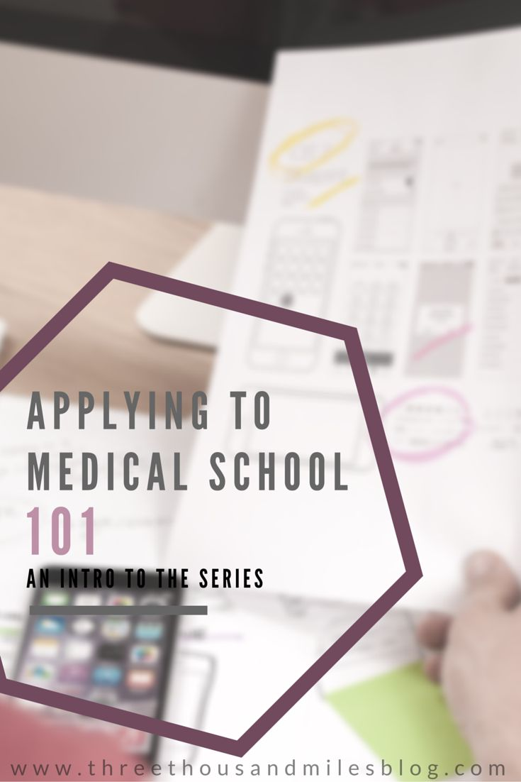 Applying to Medical School Series 39 best