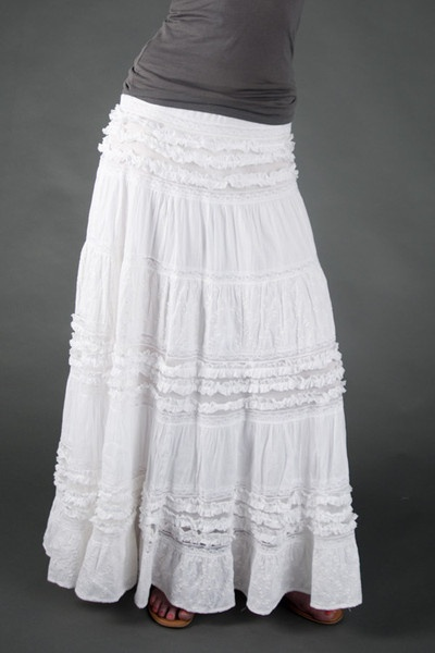 Kyra Peasant Skirt — Tall Couture...why oh why did I give ...