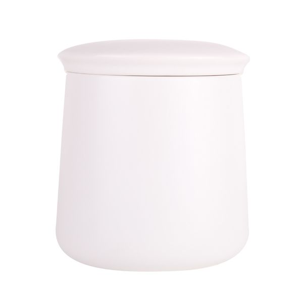 Soho Large Canister - White