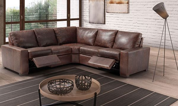 Null Sectional Sofa With Recliner