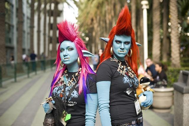 Blizzcon – Female Trolls by Onigun, via Flickr