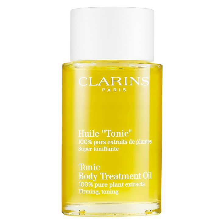 Clarins Tonic Body Treatment Oil    Sephora ❤️❤️❤️❤️ the most amazing after shower body skin oil it leaves you smelling amazing and makes you feel so soft and beautiful
