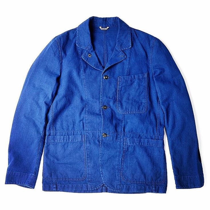 We have a limited number of our Indigo Canvas Blazers available on our site. #madeinengland #indigo #hawksmilldenimco