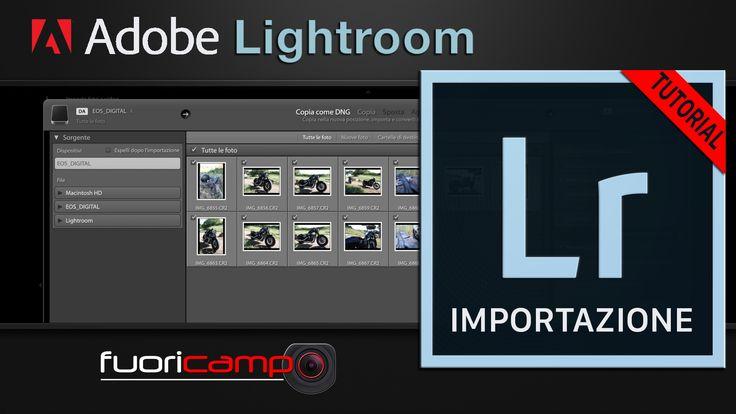 Tutorial Lightroom Italiano - CC #2 IMPORTAZIONE Per poter cominciare a lavorare con Adobe Photoshop Lightroom CC è necessario importare le vostre foto nel suo catalogo. Vediamo, quindi, come procedere dando un'occhiata anche alle preferenze del programma.