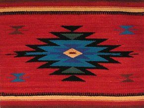 Exceptional Cool Mexican Rug For The Living Room!