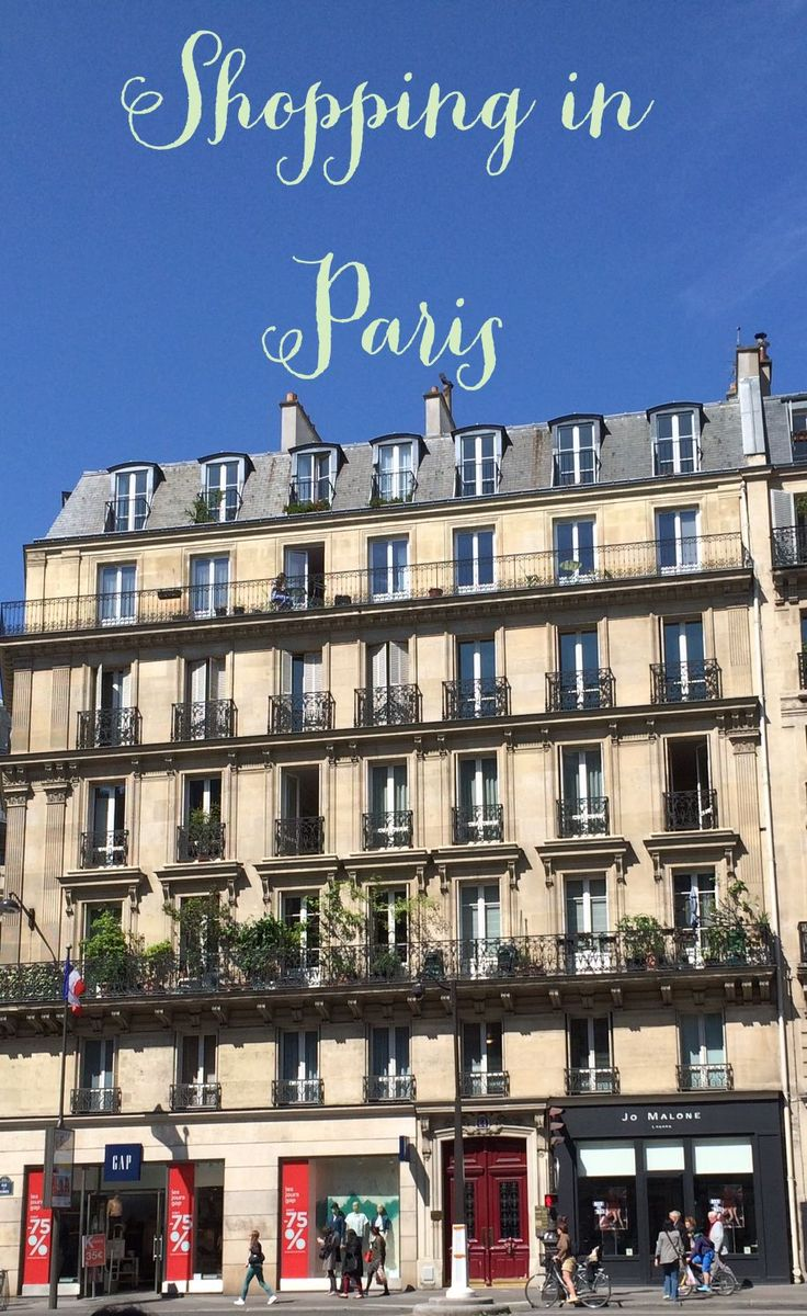 Shopping in Paris - a Guide to my Favorite Shops!