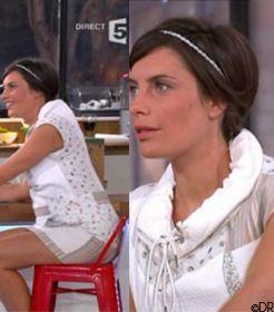 Vu à la télé - C à vous du 03/04/2012 sur France 5 avec Alessandra SUBLET   TELEVISIONSTYLE.COM