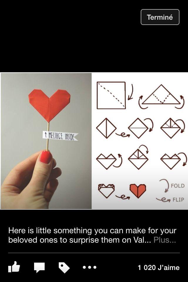 Bricolage pour la st-Valentin !:)