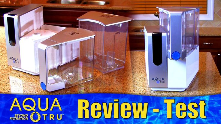 AquaTru Reverse Osmosis Water Filter Review - Unboxing and Test