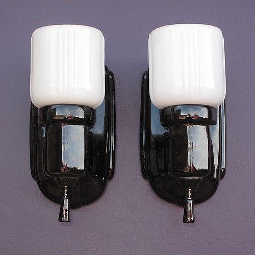 157 best images about vintage bathroom light fixtures on - Bathroom light fixture with pull chain ...
