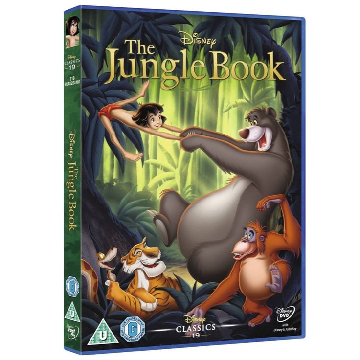 The Jungle Book // Classic Films and TV Shows at Back in the Days