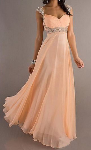 coral prom dress long prom dress cheap prom dress by okbridal, $172.00 This would make a gorgeous maid of honor dress <3 Maybe in a pretty teal color instead, ooh that'd be pretty