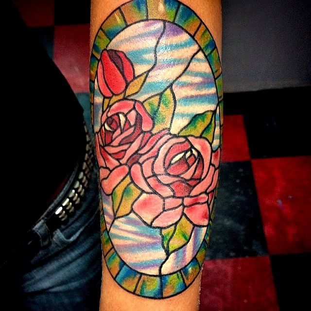 Stained Glass Tattoos | Tattoo Artists - Inked Magazine | Inked Magazine - Part 5