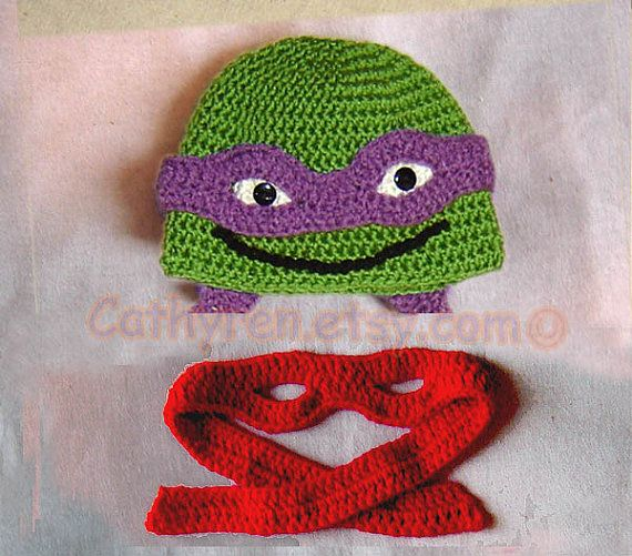 Knitting Pattern Turtle Hat : 17 Best ideas about Baby Ninja Turtle on Pinterest Ninja turtles pictures, ...
