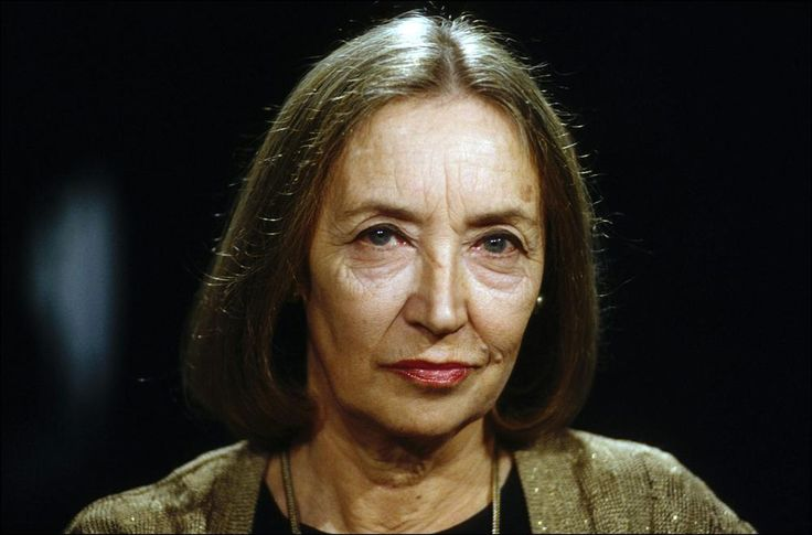Oriana Fallaci - writer and journalist