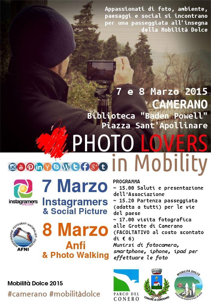 Festival Parco del Conero - Mobilità Dolce 2015  Mostra: Photo Lovers in Mobility