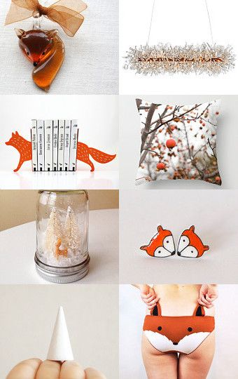 What does the fox say? Buy Homemade at etsy!