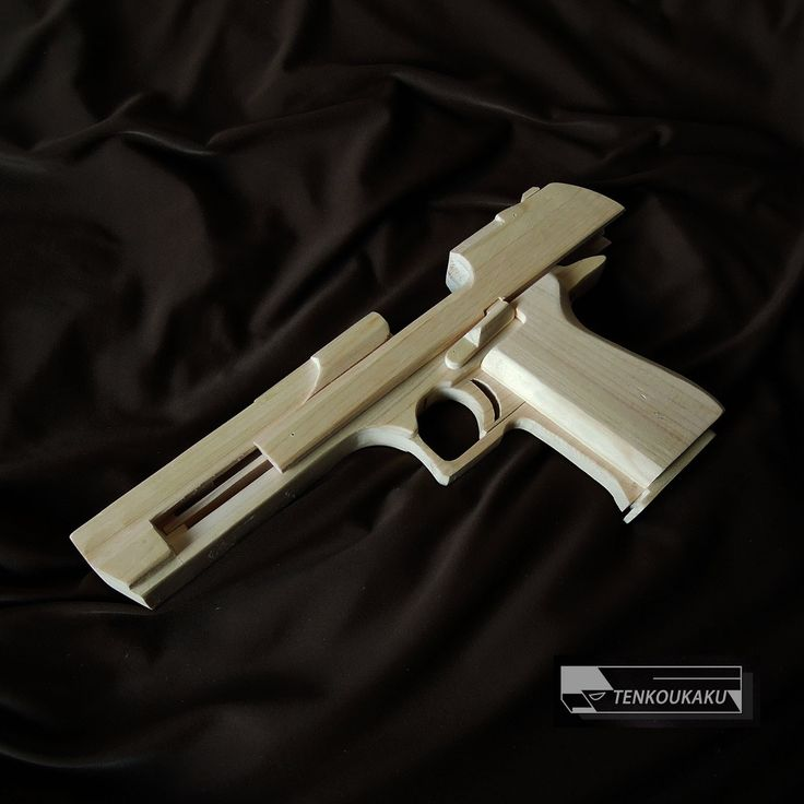 The rubber band guns with blowback mechanism- Desert Eagle Type ■ Production manuals :http://tenkoukaku.thebase.in/