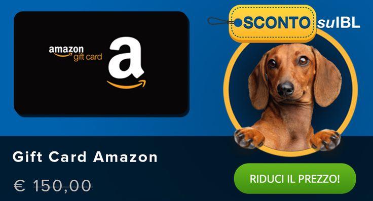 Il prezzo? Lo scegli tu! #Giftcard digitale #Amazon 150€ #madai