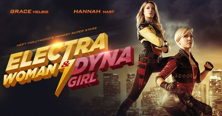 'Electra Woman & Dyna Girl' Trailer: The Krofft Superheroes Return -- Comedians Grace Helbig and Hannah Hart star in the exciting reboot of the Krofft's Saturday morning adventure show 'Electra Woman & Dyna Girl'. -- http://movieweb.com/electra-woman-and-dyna-girl-trailer-2/