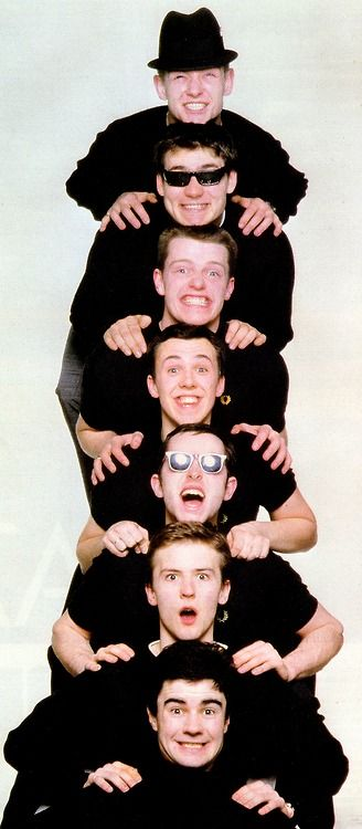 Madness.  How can you not love this fun ska band? Saw this band perform in Brisbane when at Uni in 1980.