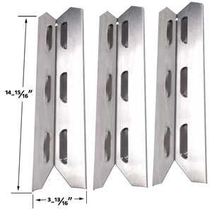 KENMORE 146.16198210, 146.16222010, 146.23673310, 146.23680310, 640-03982839-7 (3-PK) STAINLESS HEAT SHIELD