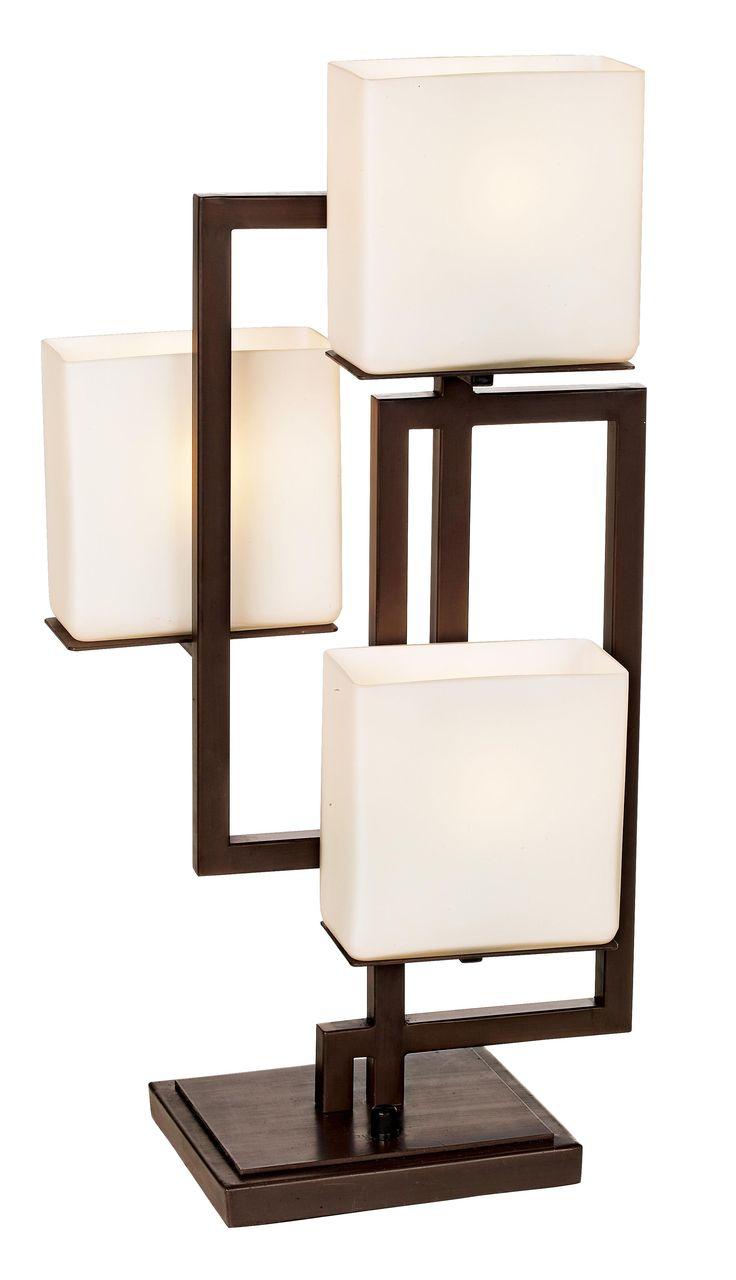 Possini Euro Design On the Square Accent Table Lamp -