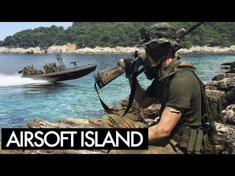 Island Airsoft Sniper Gameplay - Part 1 - YouTube