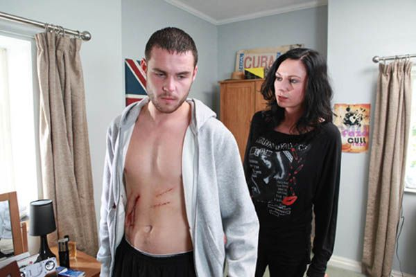 Chas Dingle (Lucy Pargeter) & Aaron Livesy (Danny Miller) (Fall 2011)